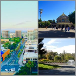 Downtown San Jose, Palo Alto, Santa Clara