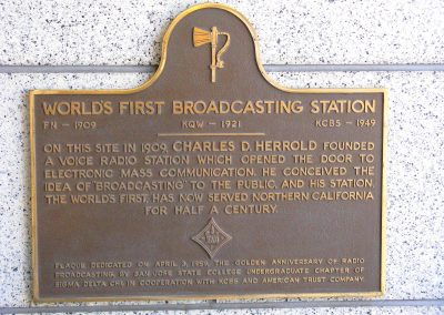 World's First Radio Broadcasting Station
