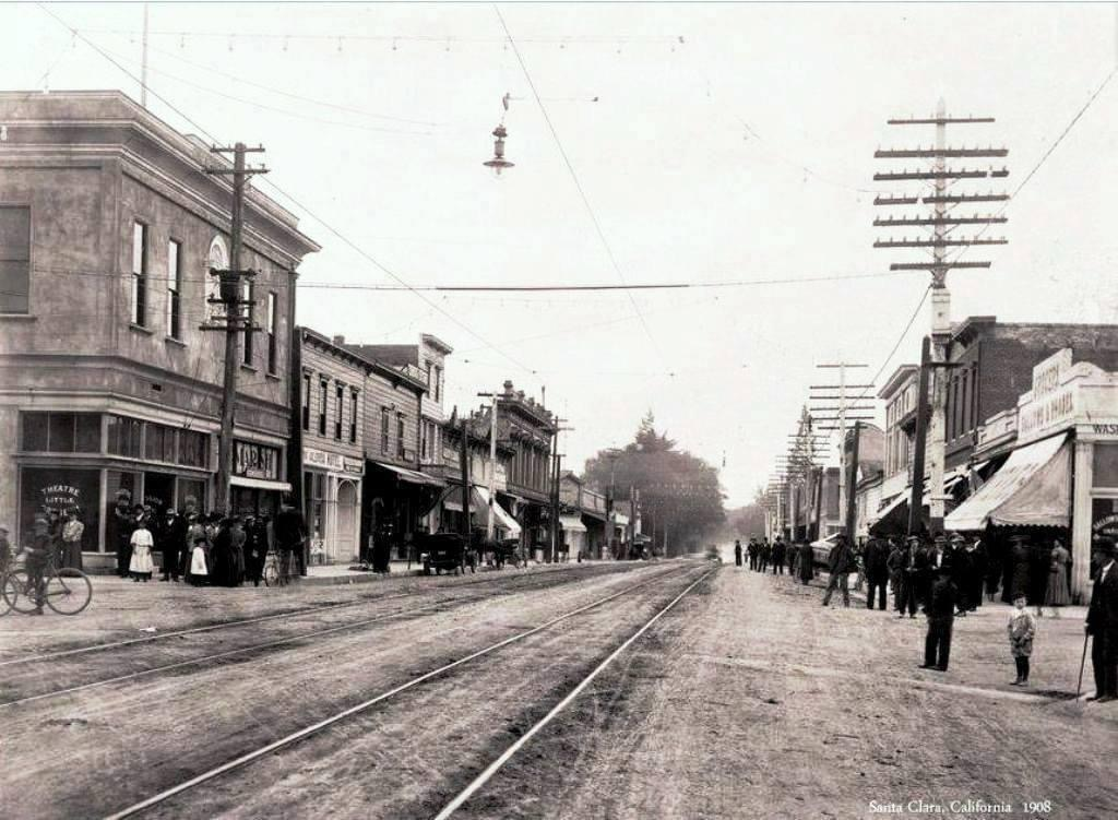 Santa Clara Downtown History